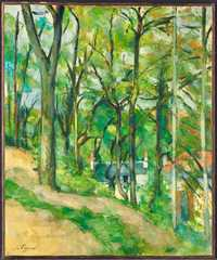 Cezanne's La Cote Saint Denis a Pontoise was sold by Christie's New York for $8.64 million in May 2017