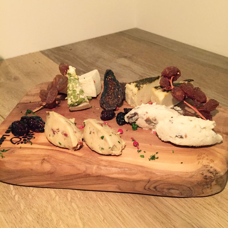 Cheese platter at Choice