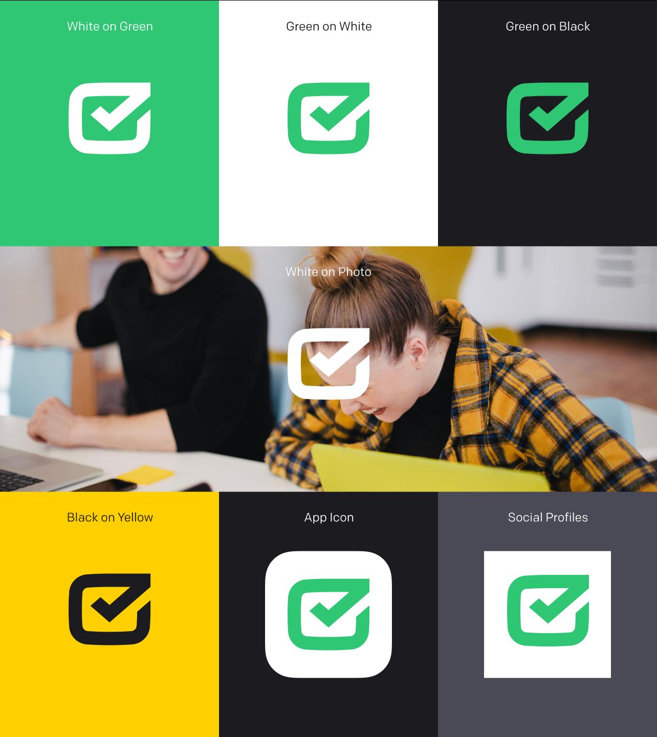 HelpDesk logo background usage