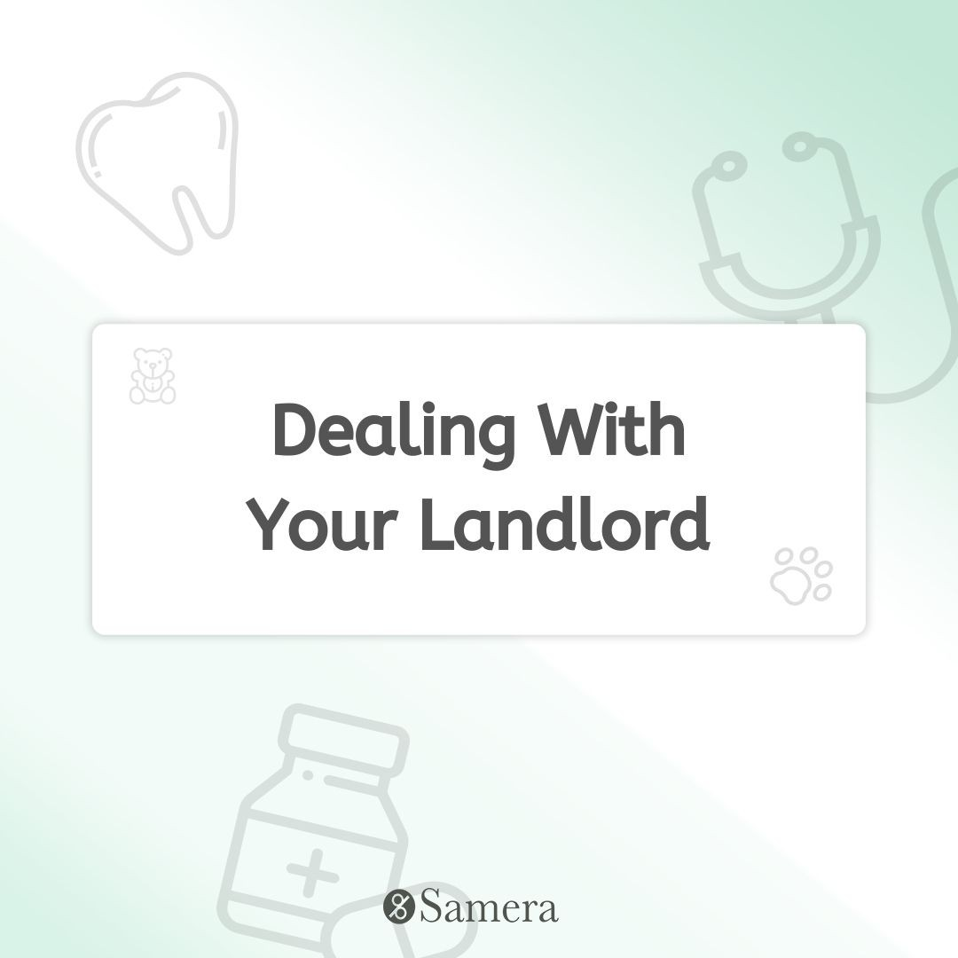 Dealing With Your Landlord