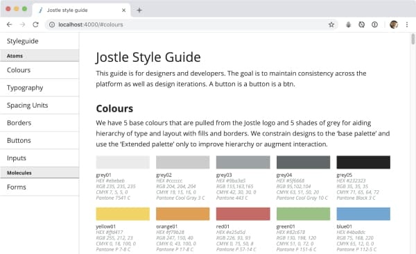 Jekyll website
