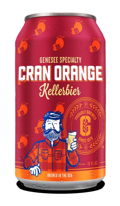 Genesee Cran Orange Kellerbier can
