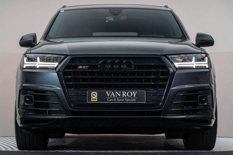"Audi SQ7 4.0 TDI V8 Quattro 435pk 7 Pers. Panoramadak BlackOptic B&O NightVision Luchtvering ACC ValconaLeder+Memory Matrix Head-Up Navi-High Keyless Trekhaak 22"" Camera Pdc afbeelding 11"