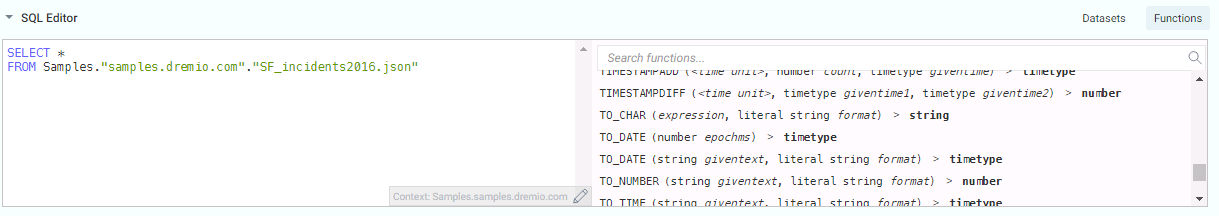 Adding a sql function to our query