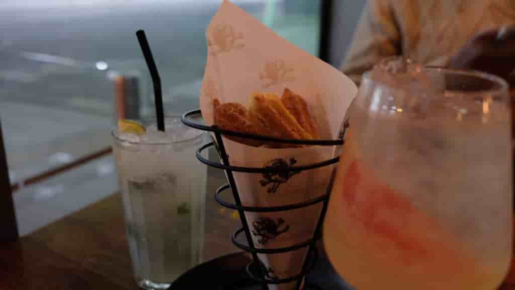 Churros and cocktails