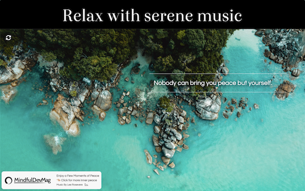 inner peace browser extension screenshot