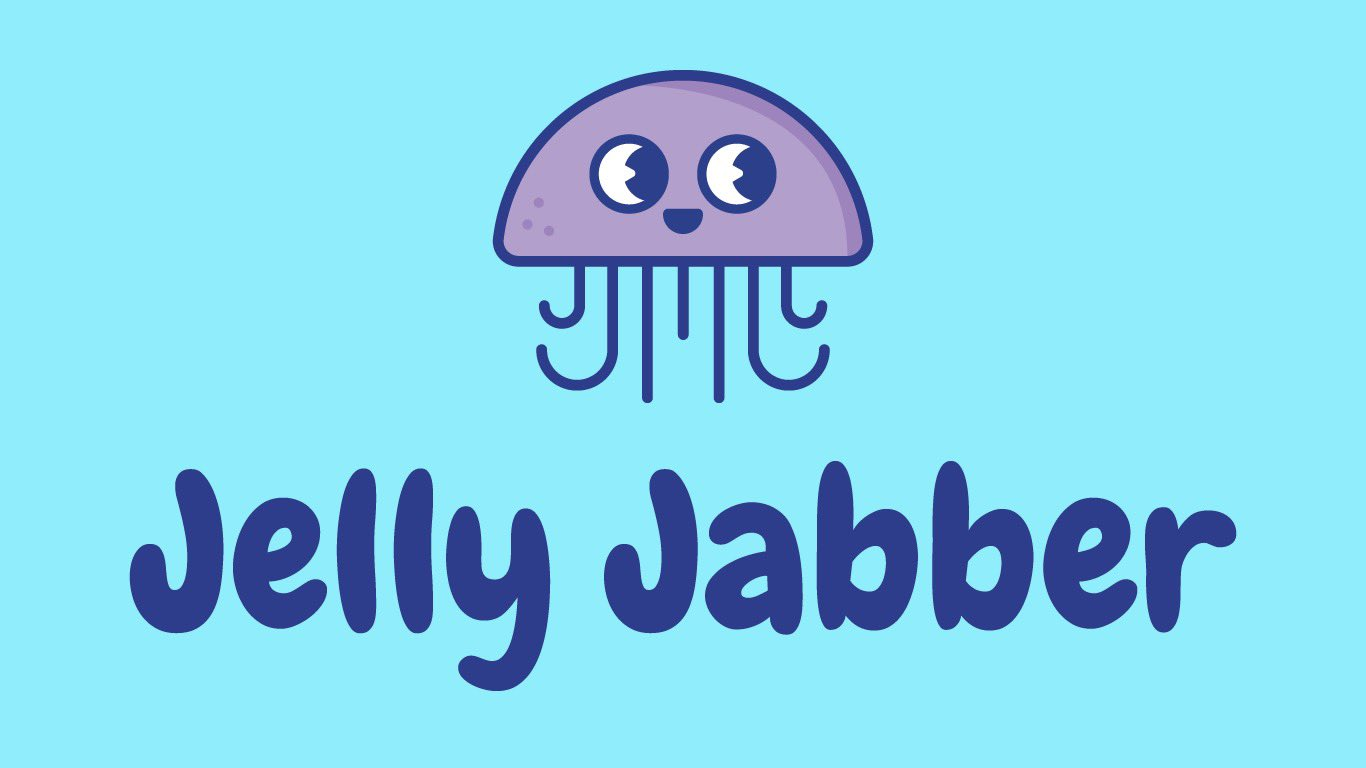 Jelly Jabber project logo with jellyfish