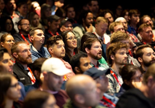 The audience at SmashingConf
