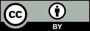 Creative Commons Attribution 4.0 license logo