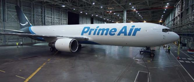 Prime Air Boeing 767-300, now know as Amazon Air.
