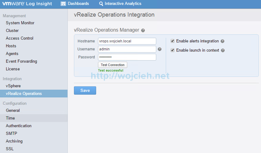 VMware vRealize Log Insight - Installation and Configuration - 28