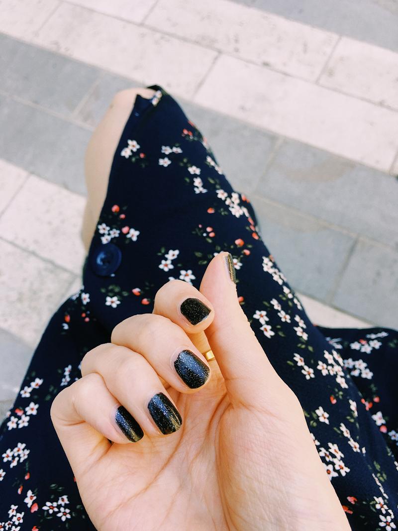 My black nails.