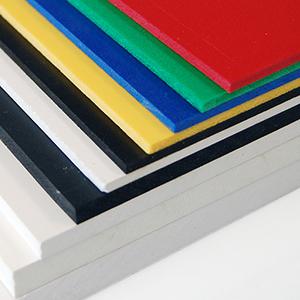 Il PVC viene prodotto in numerosi spessori e colori