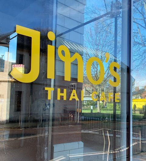 Jino's Thai Cafe next to Manhatta Headingley
