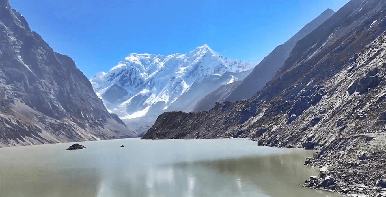Tsho Rolpa lake of Nepal