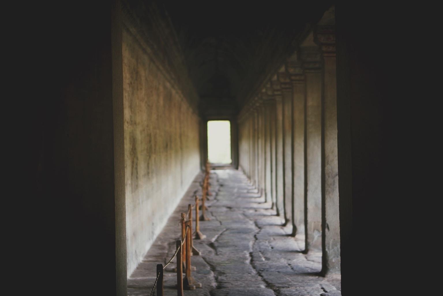 Angkor Wat, outer walkway