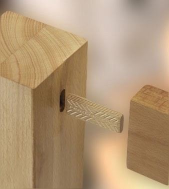 Normal domino dowel rods forgluing