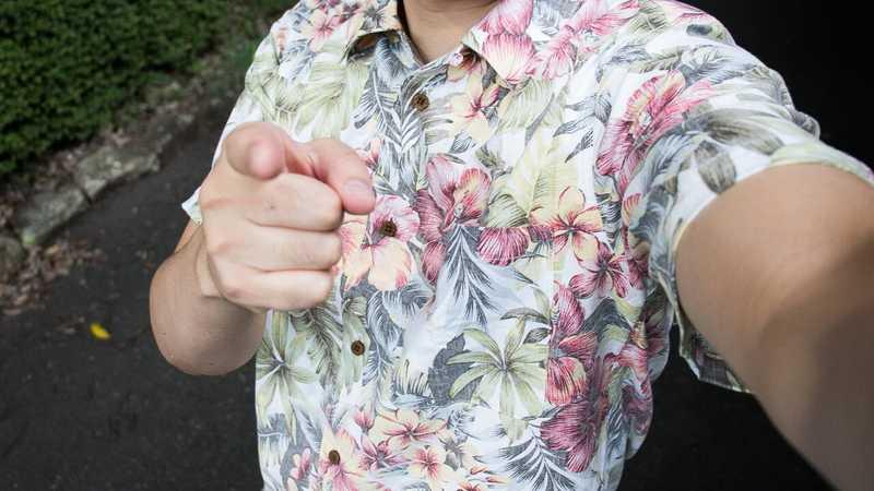 カメラを止めるな!のアロハシャツ