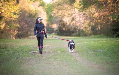 Mental and Physical Health Benefits to Exercising Outdoors with Your Pup