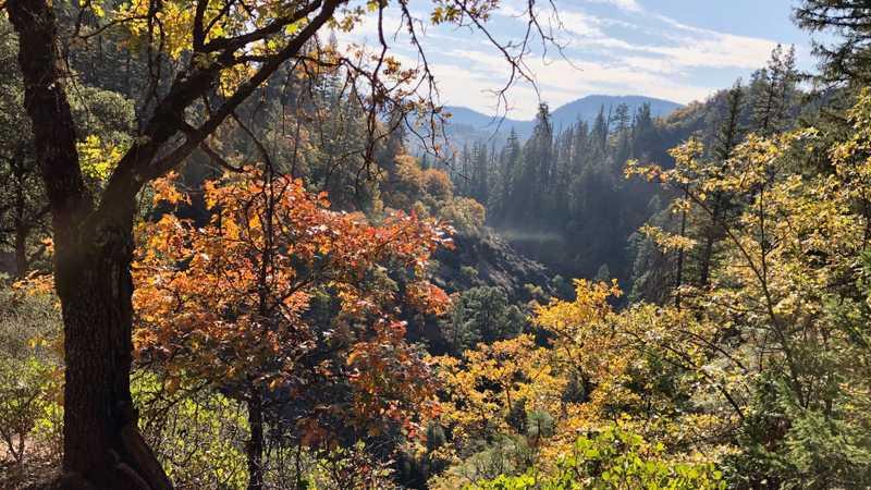 Descending toward Rock Creek