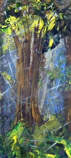 After the rain by Lark Larisa Pilinsky