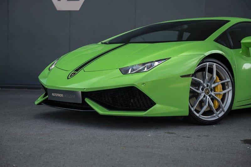 Lamborghini Huracan 5.2 V10 LP610-4 Blue Eye + Carbon Spoiler + LIFTING + Achteruitrijcamera afbeelding 9