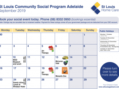 September Community Program