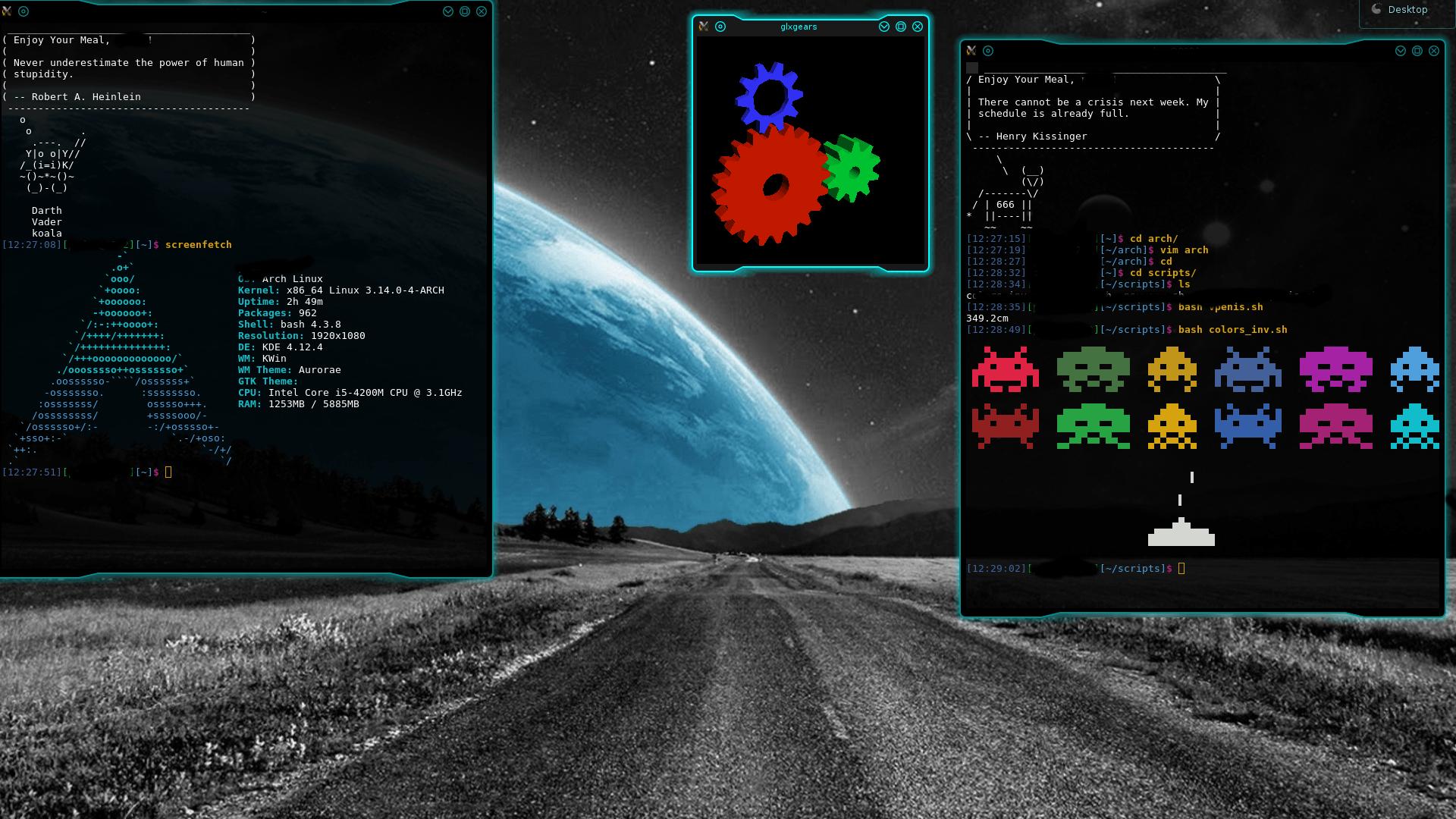 Arch KDE
