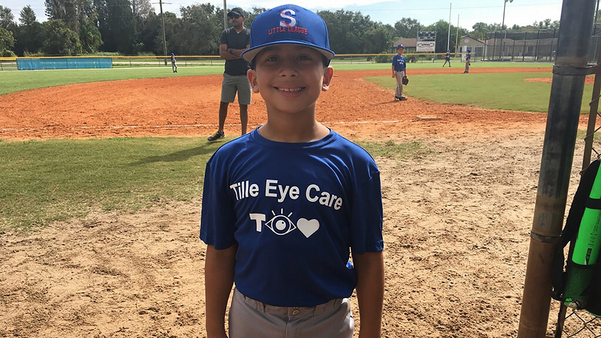Tille Eye Care Sponsored Baseball Team