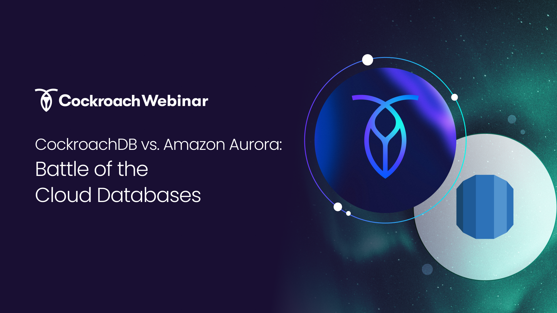 CockroachDB vs. Amazon Aurora: Battle of the Cloud Databases