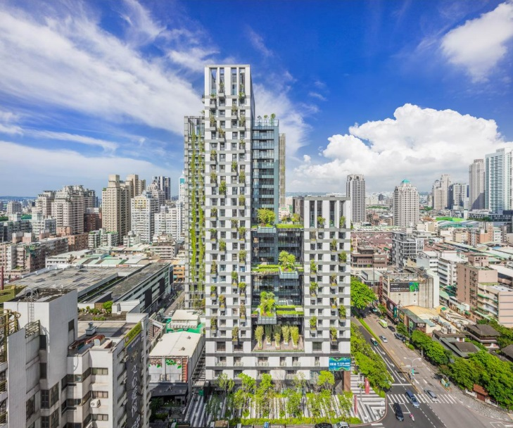 Location of Sky Green in Taichung
