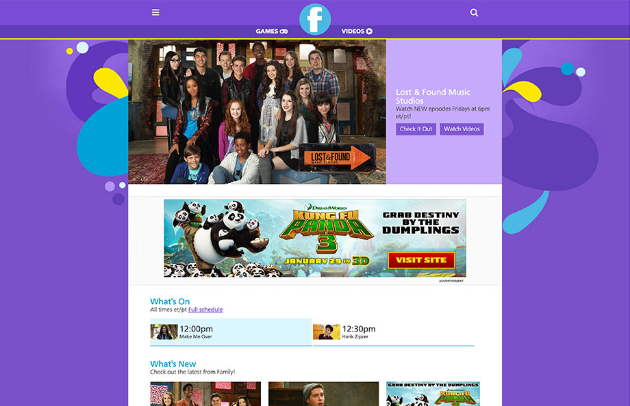 Family Homepage