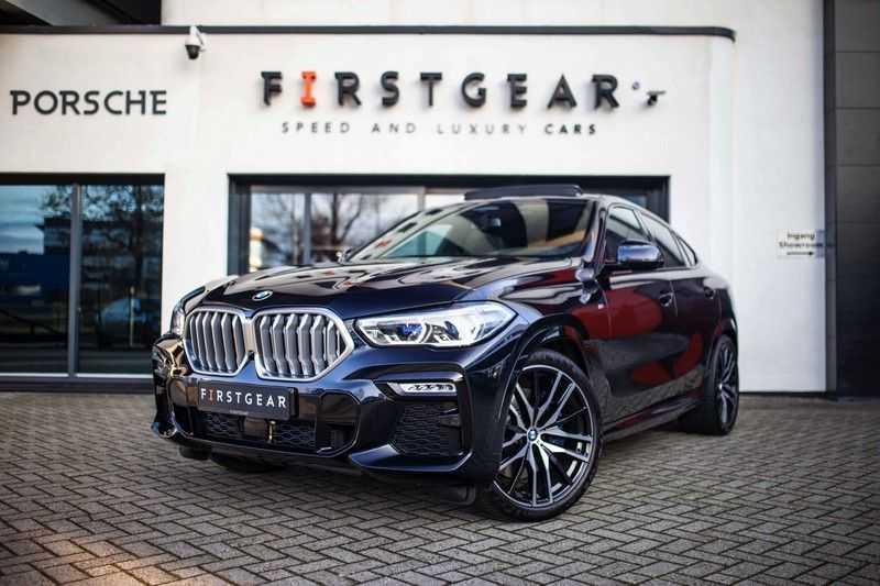 "BMW X6 xDrive40i High Executive *Pano / Laser / HUD / H&K / Leder Indiv. / 22"" / Topview* afbeelding 1"