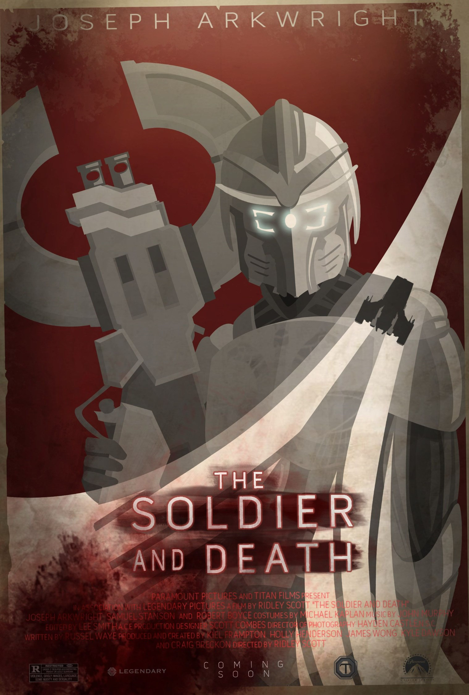 Soldier and Death: Poster