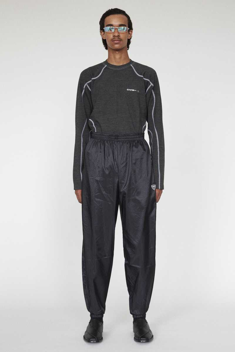 SEHER GMBH AW19 JOGGING TROUSERS BLACK FULL LOOK