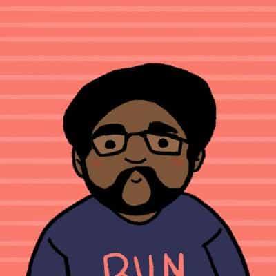Illustrated portrait of Marcus Relacion