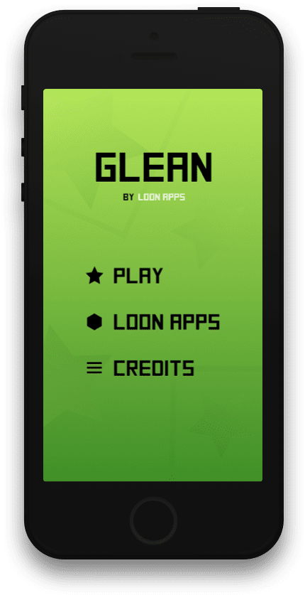 Glean homescreen