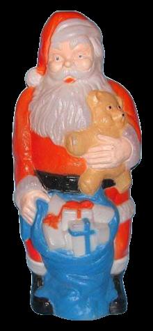 Santa And Teddy photo