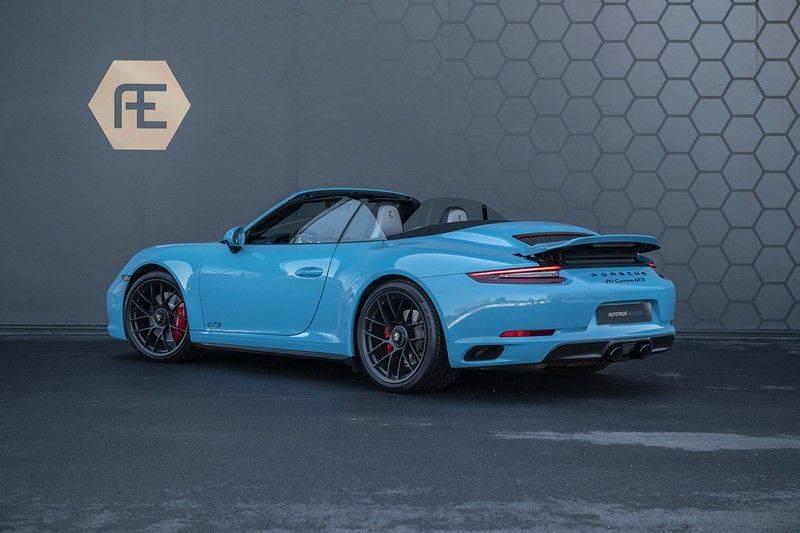 Porsche 911 GTS Carrera Cabriolet 3.0 MIAMI BLUE + SPORTUITLAAT + BTW MIAMI BLUE + SPORTUITLAAT afbeelding 3