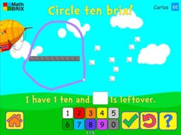 Grouping: Make a 10 by circling Math Game