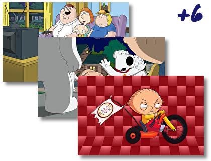 Family Guy theme pack