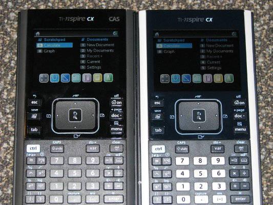 TI-Nspire CX vs. TI-Nspire CX CAS