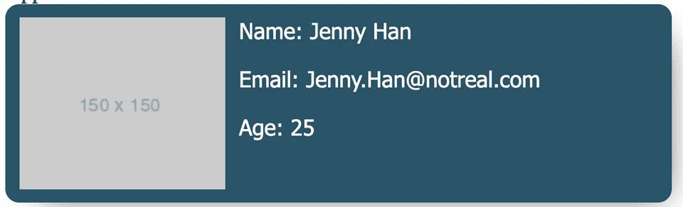 contac card template