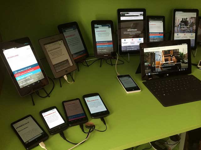 Many mobile devices