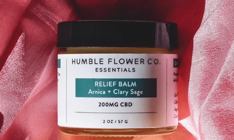 Humble Flower Co. Relief Balm
