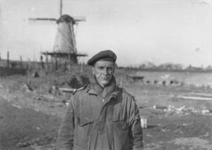 Guy de Montlaur à Oranje Molen, Novembre 1944