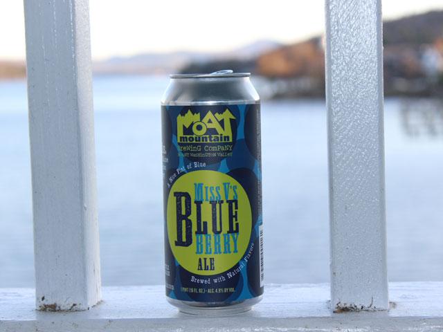 Moat Mtn Miss V's Blueberry Ale