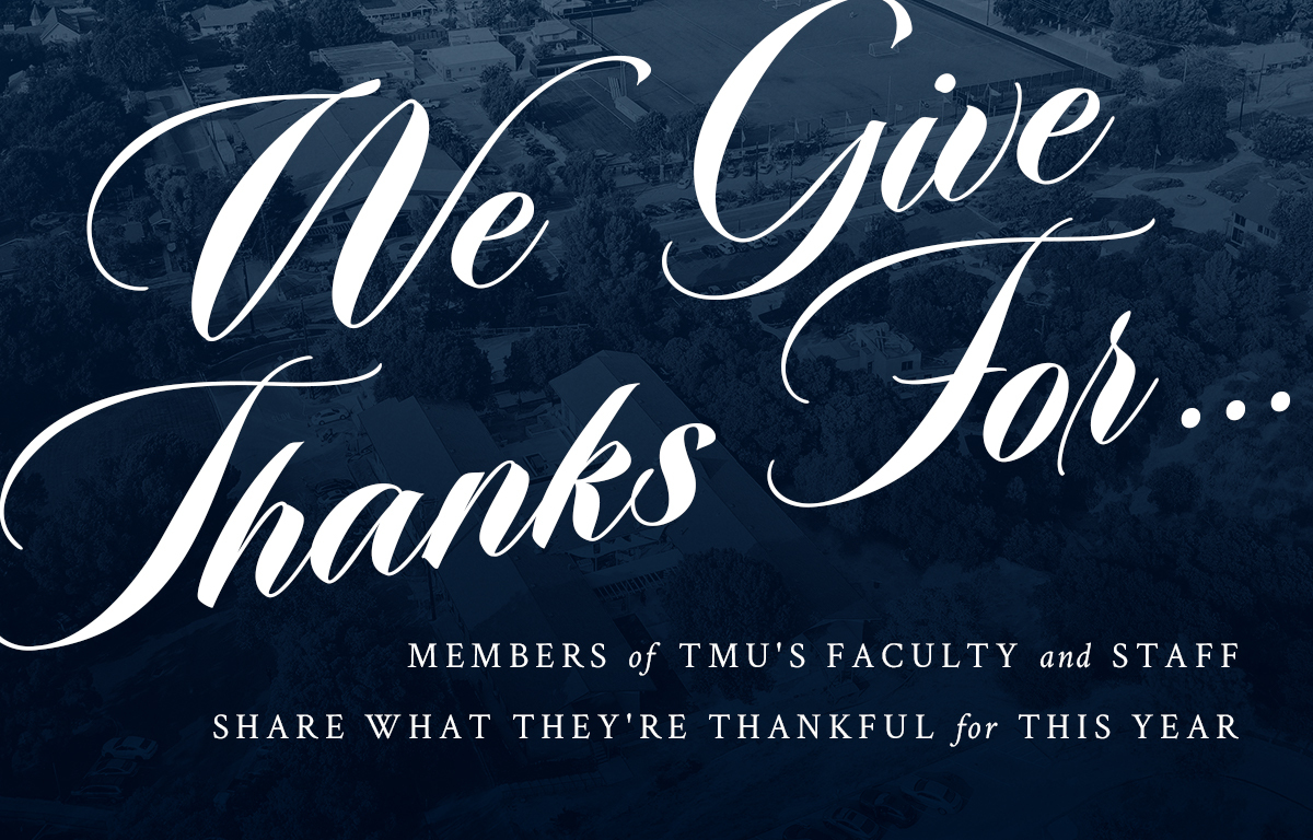 We Give Thanks For image