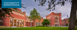 Lecturer/Senior Lecturer, University of Birmingham