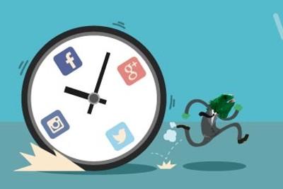 mejor hora redes sociales